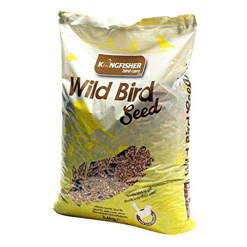 Natures Market King Fisher Sac de graines pour Oiseaux Sauvages Transparent 3,6 kg