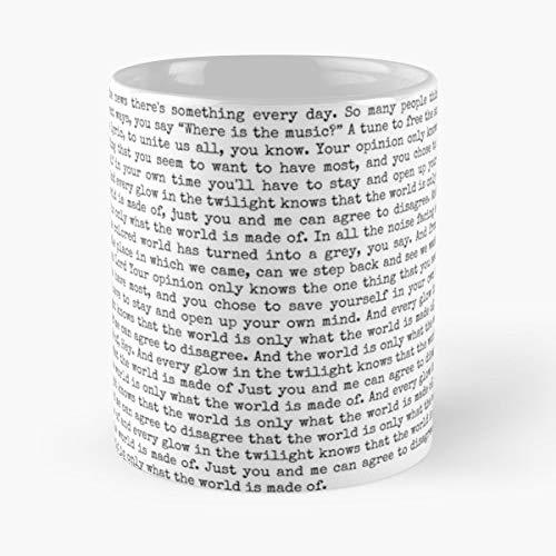 92Wear Greta Van Fleet Gvf Anthem of The Peaceful Army Josh Kiszka Jake - Best 11 Ounce Cerámica Coffee Mug Gift