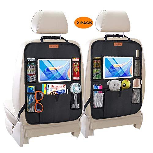 SWIHELP Car Backseat Organizer with 10' Tablet Holder + 5 Storage Pockets...