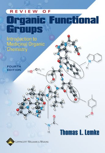 Review of Organic Functional Groups: Introduction to Medicinal Organic Chemistry