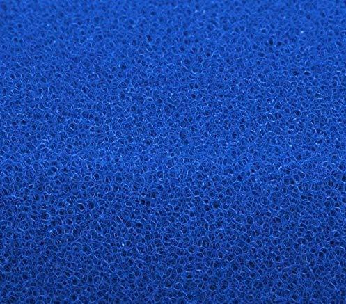 Filtermatte 50x50x5 cm PPI 10/20/30, Filtermaterial für Gartenteichfilter und Aquarienfilter geeignet (PPI 30 (fein))