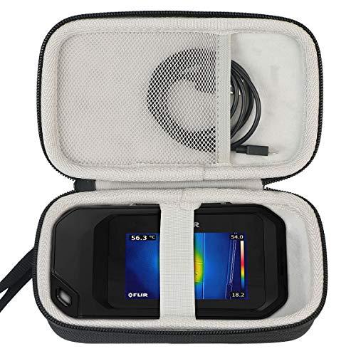 Khanka Case tasche Hülle für FLIR C2/C3 Compact Thermokamera.(Nur ein tasche)