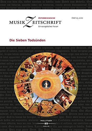 Die Sieben Todsünden: Österreichische Musikzeitschrift 05/2016