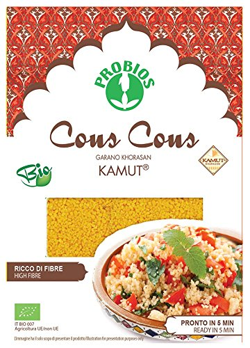 PROBIOS 100% Kamut-Vollkorn Cous Cous, 1er Pack (1 x 500 g)
