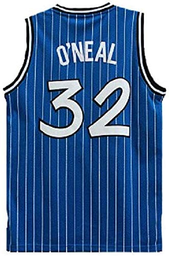 Hyzb Basketball Trikots - NBA Magie # 34 Shaquille O'Neal Basketball-Trikot kühle Breathable Gewebe Klassische Weste T-Shirt (Size : L~175cm/65~75kg)