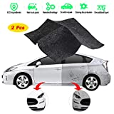Car Scratch Remover Cloth, 2 Pack Multipurpose Scratch Remover Cloth Nano Car Scratch Repair Kit, Scratch Removing Cloth for Car Surface Repairing Light Paint Scuffs Remover and Strong Decontamin