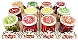 Supergarden paquete económico: 12 tazas de bayas y frutas liofilizadas - Snack saludable -Producto 100% puro y natural - Apto para veganos -Sin azúcares, aditivos artificiales ni conservantes añadidos