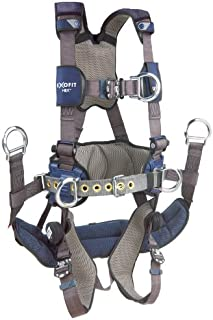 3M DBI-SALA 1113191 ExoFit NEX Tower Climbing Vest-Style Full Body Harness, Medium