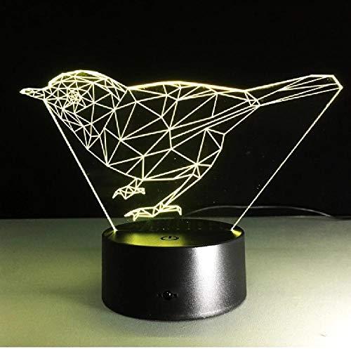 Novedad Luminaria Led 3D Luminarias Powerbank Usb Led 3D Lámpara Lamparas De Mesa Armario Lámpara De Noche Movimiento