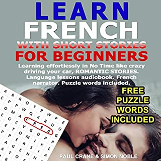 Learn French with Short Stories for Beginners (French Edition) cover art