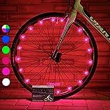 Activ Life Lumières pour Roue de vélo (Paquet de 2, Rose) Cadeau d'anniversaire...