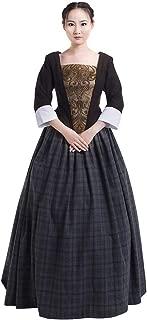 CosplayDiy Women's Dress for Outlander Jenny Fraser Murray Cosplay Costume Dress