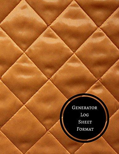 Generator Log Sheet Format: Generator Log