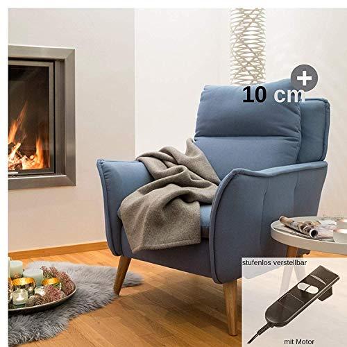 plaats te bestellen. Relaxstoel en bank collectie Insideout Relaxsessel XXL + Motor eiken - blauw