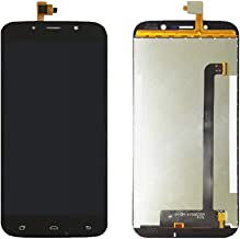 JayTong LCD Display & Replacement Touch Screen Digitizer Assembly with Free Tools for UMI Rome X Black