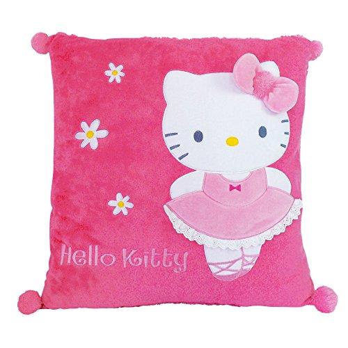 Hello Kitty - 711392 - Ameublement et Décoration - Coussin Carré - Ballerine