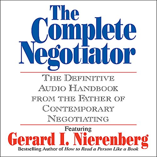 The Complete Negotiator audiobook cover art