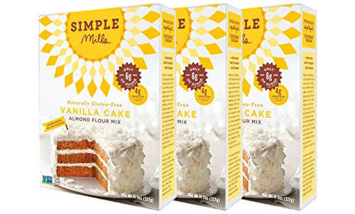 Simple Mills Almond Flour Mix Vanilla Cupcake amp Cake 115 oz PACKAGING MAY VARY
