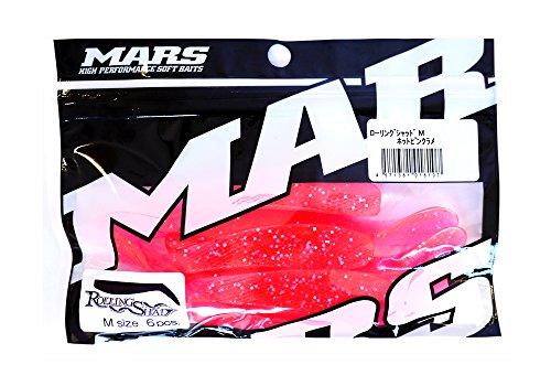 MARS(マーズ) ワーム マーズ ローリングシャッド M ホットピンクラメ ヒルクライム.