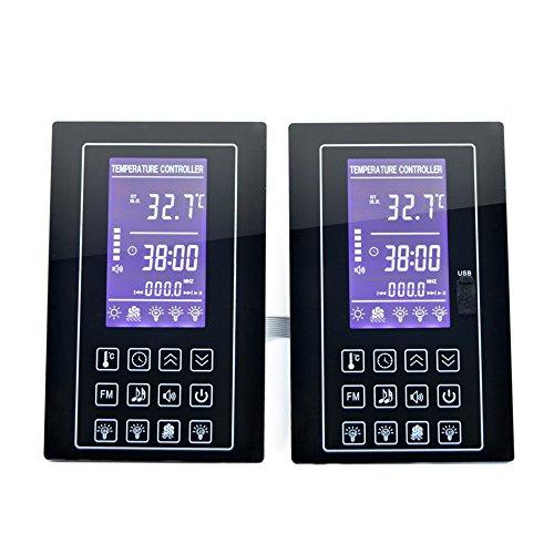 Sauna sala de vapor Panel de control de temperatura pantalla LCD de precio con cinta...