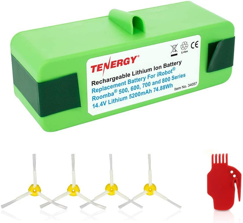 Tenergy 5200mAh iRobot Roomba Bombing free shipping Vacuum R3 Battery for Replacement Wholesale