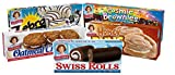 Little Debbie Variety Pack, Oatmeal Creme Pies, Buns, Swiss Rolls, Cosmic Brownies and Zebra Cakes, honey, 1 Count