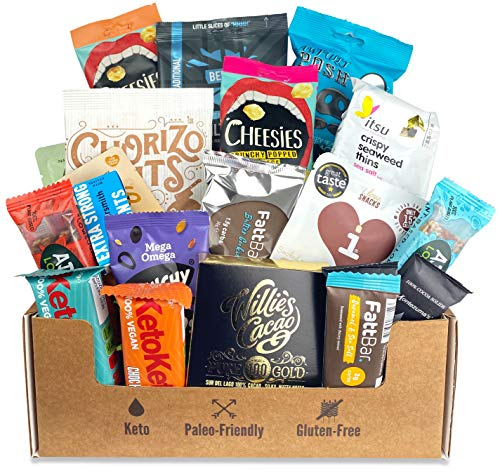 Bear In Mind 20 Gluten Free Keto Snacks Hamper