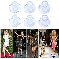 18 pares Protector de Tacón Alto Zapatos Mujer Tacos de Tacón para Caminatas Compras Bodas (Tamaños S/M/L) Protegen los Tacones del Césped Grava Ladrillos Grietas