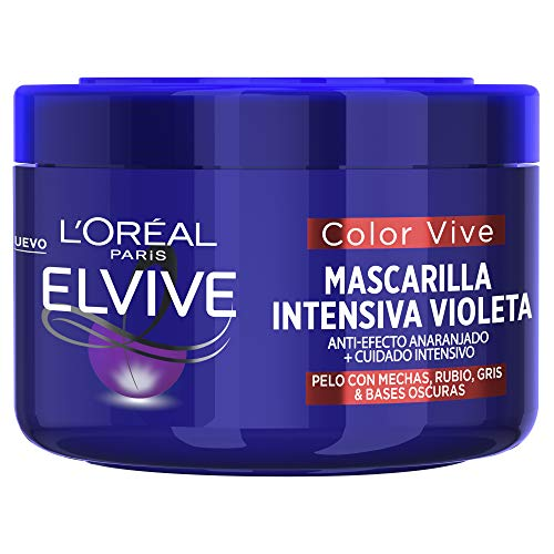 L'Oreal Paris Elvive Color Vive Mascarilla Intensiva Violeta