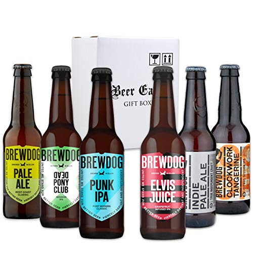 ホップの魔術師が造るビール ブリュードッグ BREWDOG [6種類] 飲み比べ6本 ギフトセット 【パンクIPA/デッドポニークラブ/インディー/ペールエール/クロックワークタンジェリン 】