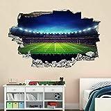 Stickers muraux Rugby Stadium Wall Art Stickers Sticker Mural Enfants Chambre Décor De Bureau À Domicile-70x100cm