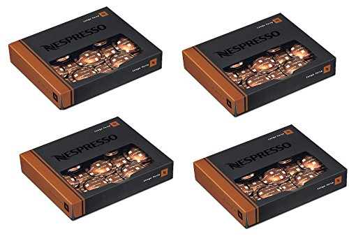 Nespresso Pro Capsules Pods - 50x Lungo Leggero - Original - for commercial machines (4 boxes - 200 capsules)