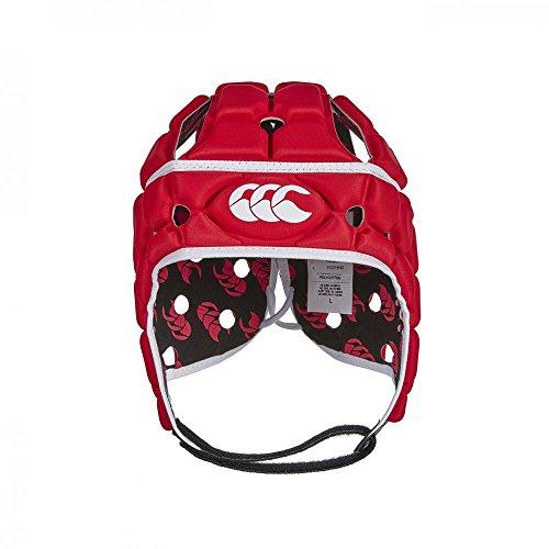 Canterbury, Ventilator Rugby, Caschetto, Unisex adulto, Rosso (Rosso Intenso), XL