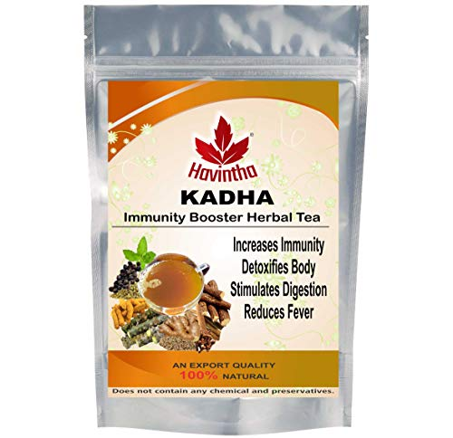 Kadha for Immunity Booster Ayurvedic Herbal Remedy for Cold, Cough, Flu, Sore Throat, Congestion. (100 Grams)