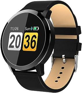 DSN Pulsera Actividad Inteligente Mujer iOS,HD Color Hombres Monitor de Calorías Sueño Podómetro Pulsómetro Screen Compatible Android1.14 Inch
