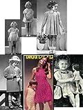 Crochet Vintage Little Girl Dresses - Crochet Toddler and Little Girl Dresses Plus a Coat to Crochet Patterns (English Edition)