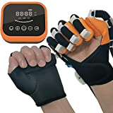 QMJHHW Electric Finger Hand Training Device Recovery Equipment Assistive Gloves, Finger Orthotics Exerciser for Stroke Hemiplegia Patients Tendons Exercise