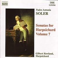 Soler: Sonatas for Harpischord, Vol. 7 / Rowland