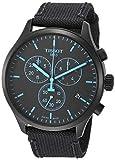 Tissot mens Chrono XL Stainless Steel Sport Watch Black T1166173705100
