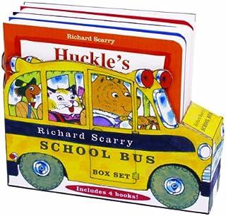 Richard Scarry School Bus Box Set