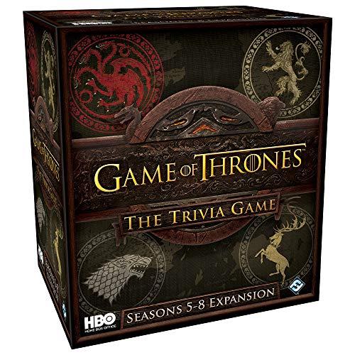 Fantasy Flight Games FFGHBO17 HBO Thrones Trivia Game: Temporadas 5-8 Expansión, Varios