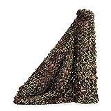 Sitong - Rollo grueso de red de camuflaje. Para caza, decoración militar, para dar sombra, 1.5Mx6M(4.9ftx19.7ft), Zona Verde