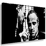 Godfather Leinwandbild LaraArt Bilder Schwarz Weiß