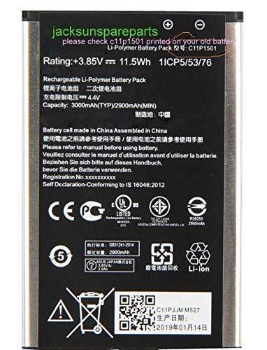 """jacksunspareparts C11P1501 3000mAh Battery for ASUS Zenfone 2 Laser 5.5""""/6"""" Selfie ZE550KL ZE601KL Z00LD Z011D ZD551KL Z00UD"""