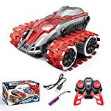 🎄【Excellent outdoor off-road toy car】The front of the body is equipped with an anti-collision bumper, which can effectively protect the body. The special crawler design enables our off-road vehicle to adapt to more complex outdoor environments. Even ...