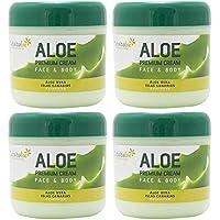 Tabaibaloe Premium Crema de Aloe Vera para cara y cuerpo 300 ml x 4 unidades