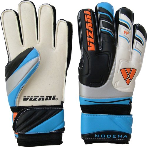 Vizari Modena F.R.F Glove, Black/White/Blue, Size 5