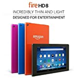 Fire HD 8 Tablet, 8' HD Display, Wi-Fi, 16 GB - Includes Special Offers, Black (Previous Generation - 5th)