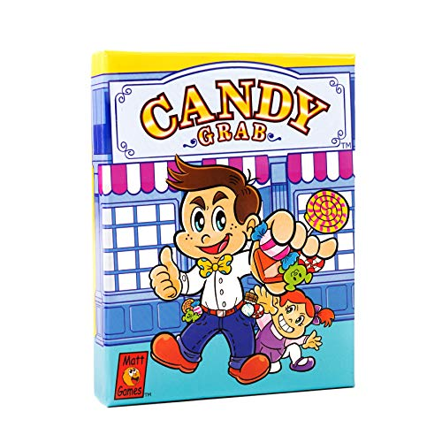 Candy Grab | FamilyFriendly Competitive Card Games | Easy to Learn | Fun For Kids Teens and Parents | Entertaining Popular Game for Families | Ideal for both Boys and Girls 26 Players Ages 7 UP