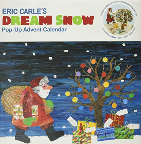 The World of Eric Carle(TM) Eric Carle's Dream Snow Pop-Up Advent Calendar: (Childrens Advent Calendar, Childrens Christmas Books, Childrens Calendars)